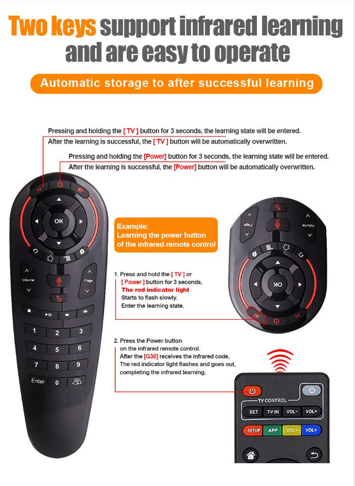 air mouse remote control manual