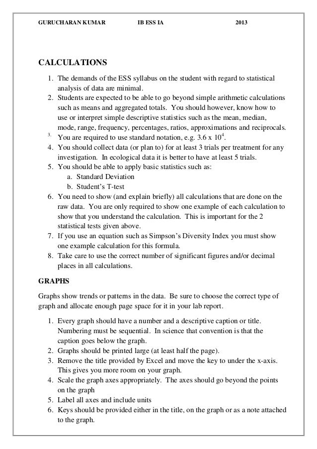 how to cite a lab manual in a lab report