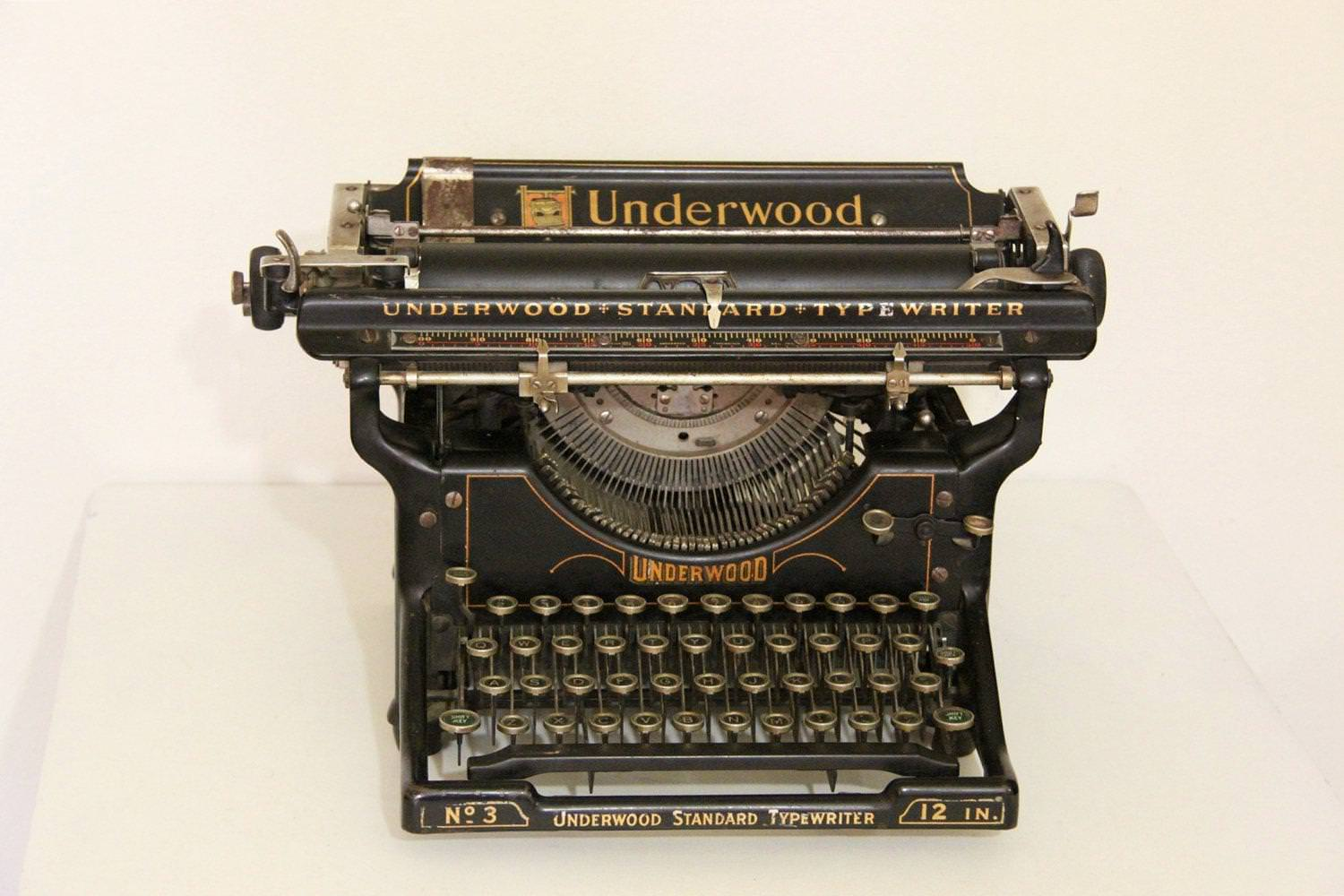 old manual typewriters for sale