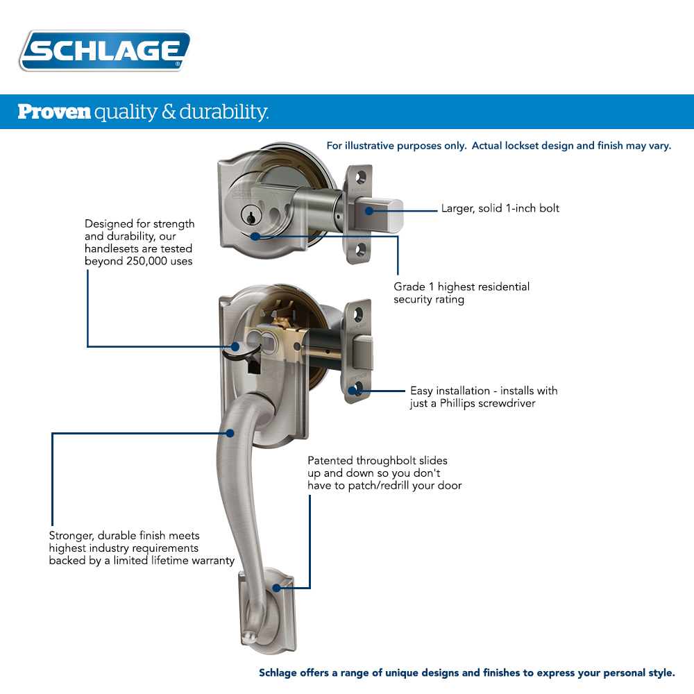 schlage nd series parts manual